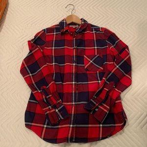 Uniqlo plaid flannel shirt